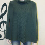 100% Merino Wool Poncho